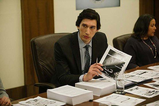 Adam Driver in The Report (Courtesy of Sundance Film Festival)