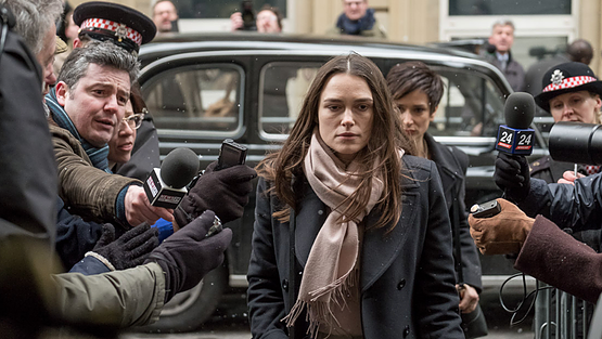 Keira Knightley in Official Secrets (Courtesy of Sundance Film Festival)