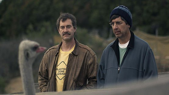 Mark Duplass and Ray Romano in Paddleton (Courtesy of Sundance Film Festival)