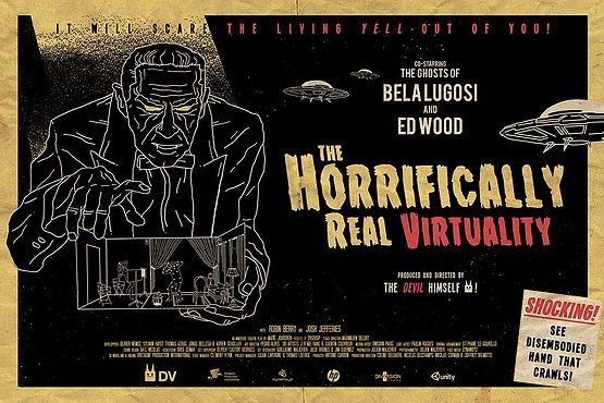 Virtual Reality VR The Horrifically Real Virtuality DV Studios Venice Film Festival