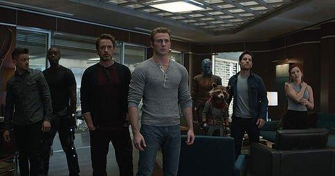 Avengers Endgame  Jeremy Renner, Don Cheadle, Robert Downey Jr, Chris Evans, Karen Gillan, Bradley Cooper, Paul Rudd Scarlett Johansson Marvel
