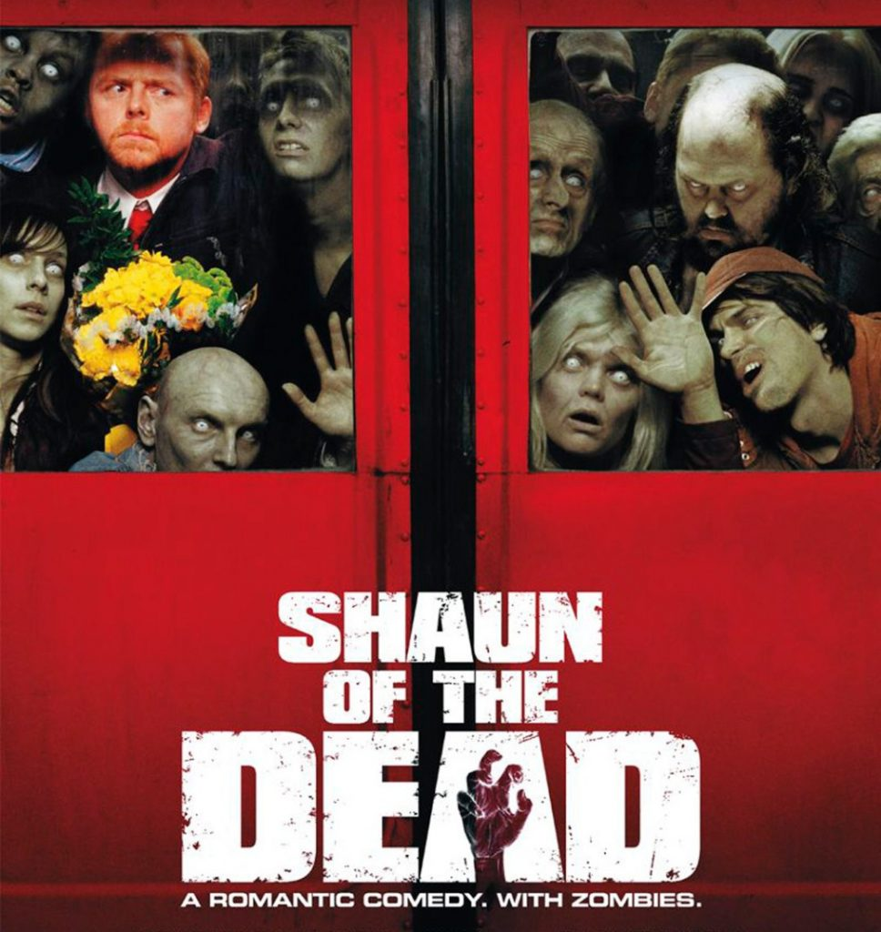 Shaun of the Dead poster Simon Pegg Edgar Wright