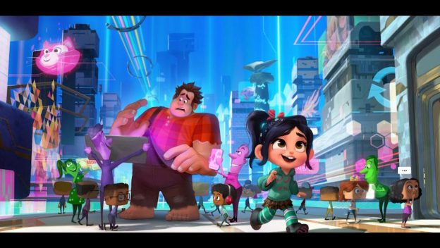 Ralph and Vannelope in Wreck It Ralph 2: Ralph Breaks the Internet