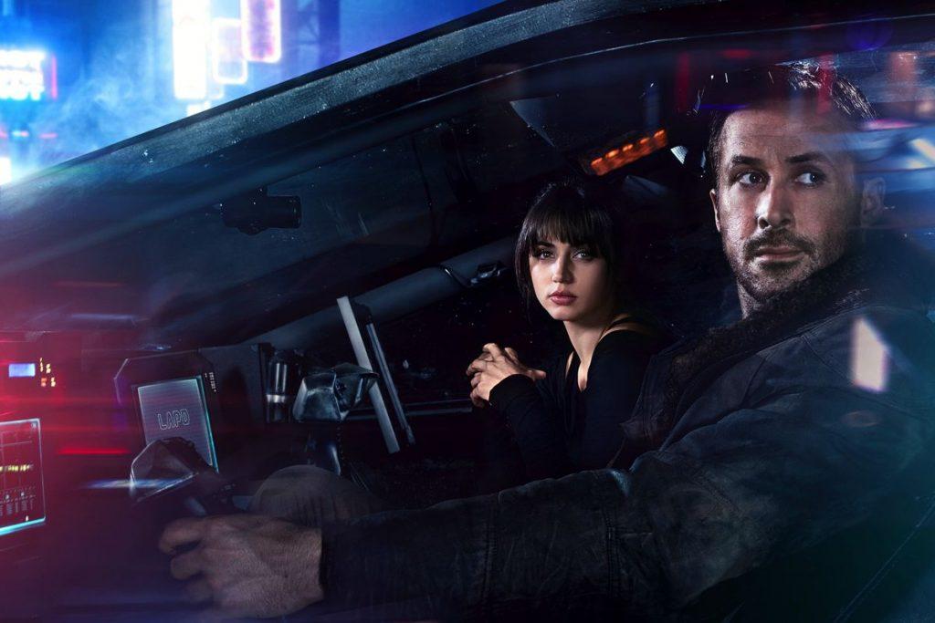 Ana de Armas and Ryan Gosling in Blade Runner 2049 (Warner Bros)