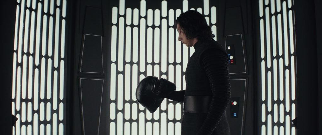 Adam Driver as Kylo Ren in Star Wars: Episode VIII - The Last Jedi