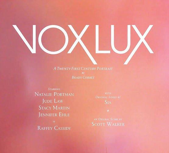cover Vox Lux film