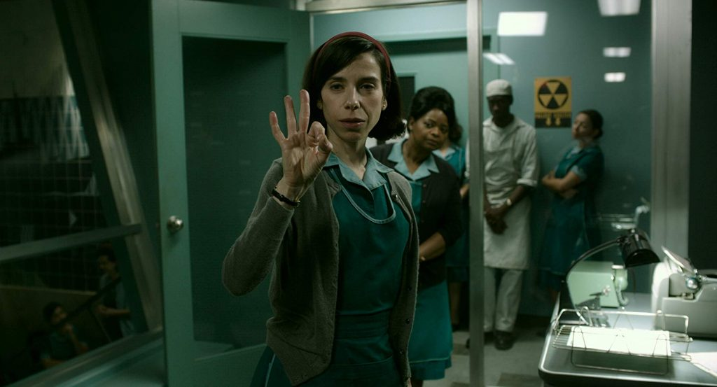 Octavia Spencer and Sally Hawkins in The Shape of Water