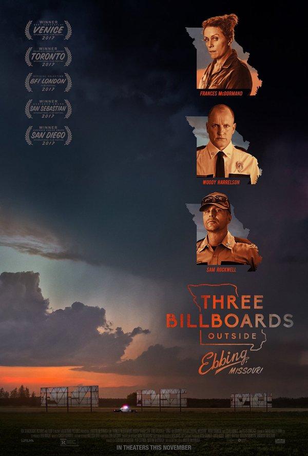 Poster for Three Billboards Outside Ebbing, Missouri