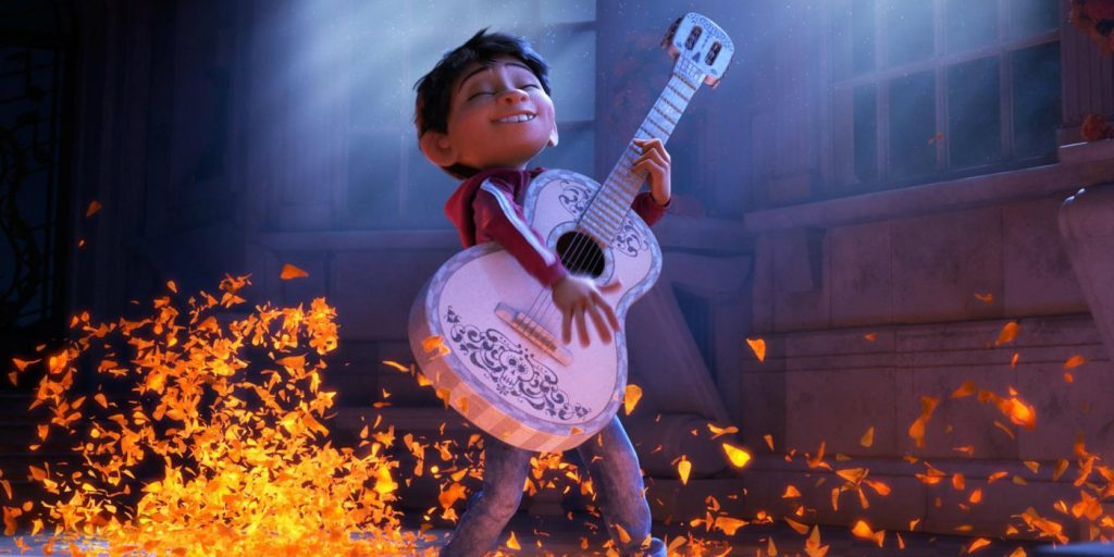 Anthony Gonzalez as Miguel in Coco pixar