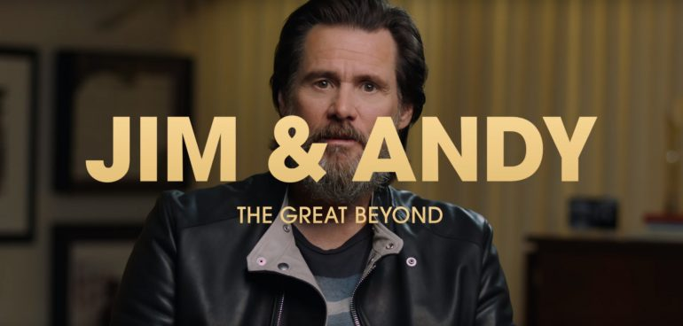 Jim Carrey in Jim & Andy: The Great Beyond - netflix