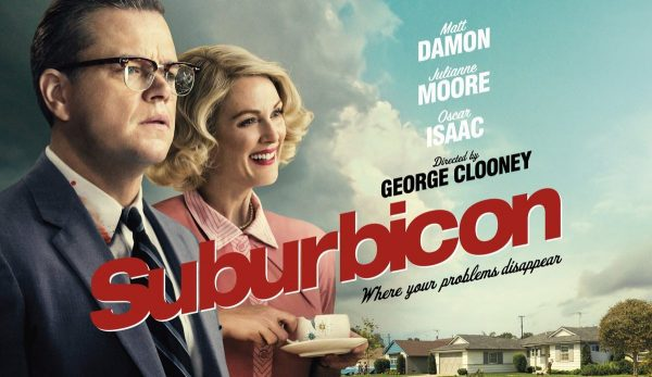 Poster for Suburbicon: Julianne Moore George Clooney