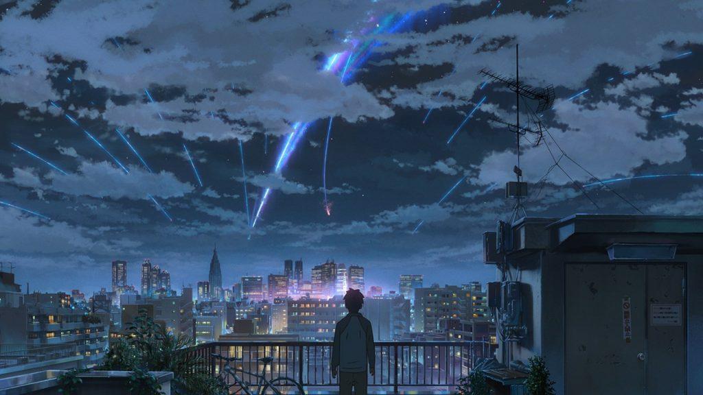 君の名は your name kimi no na wa japanese animation Ryûnosuke Kamiki