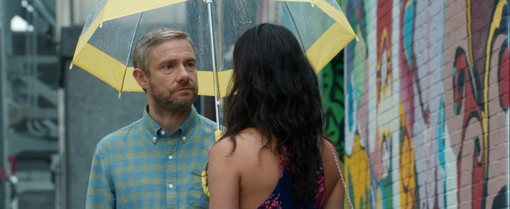 Martin Freeman and Morena Baccarin in Ode to Joy (Courtesy of Edinburgh Film Festival)