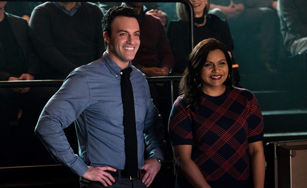 Reid Scott and Mindy Kaling