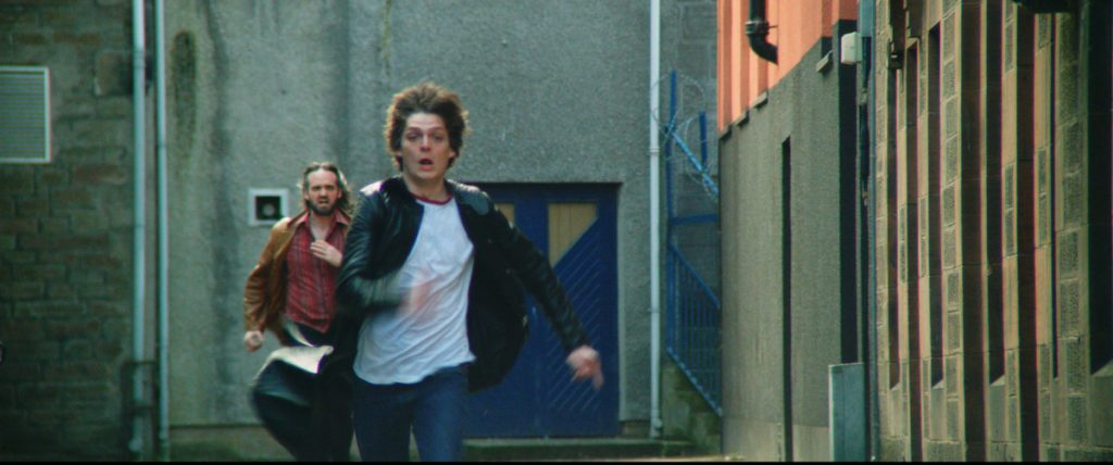 Loud and Clear - Conor Berry and Ian Stobbie in Dave McLean's Schemers (Edinburgh Film Festival)