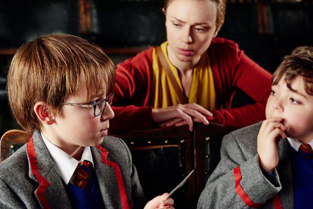 Rory Stroud as Wilbur, Maeve Dermody as Frankie and Samuel Jones as Barnaby in Love Type D (Sasha Collington/Midnight Circus Films)