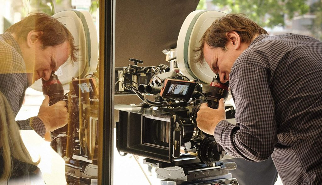 Quentin Tarantino camera