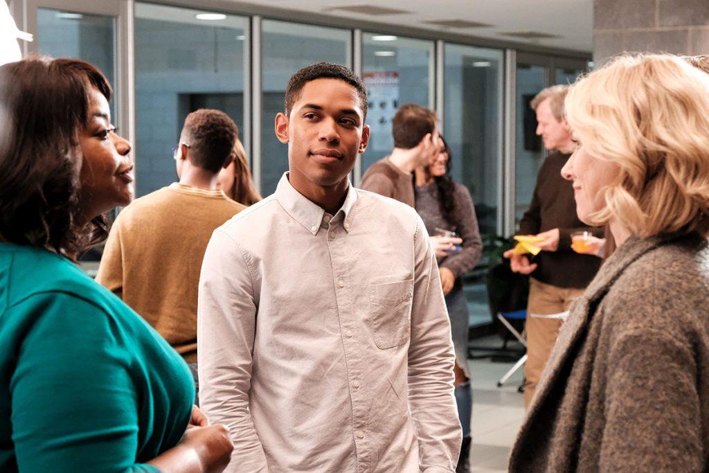Octavia Spencer, Kelvin Harrison Jr and Naomi Watts in Luce (Jon Pack/Neon)