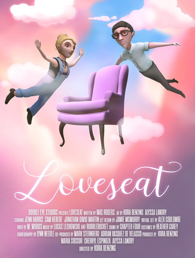 Loveseat Venice Film Festival Loud and Clear Poster (Courtesy of Double Eye)