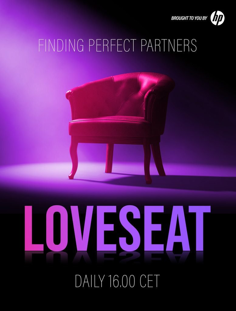 Loveseat Venice Film Festival Loud and Clear Soundstage Poster (Courtesy of Double Eye)