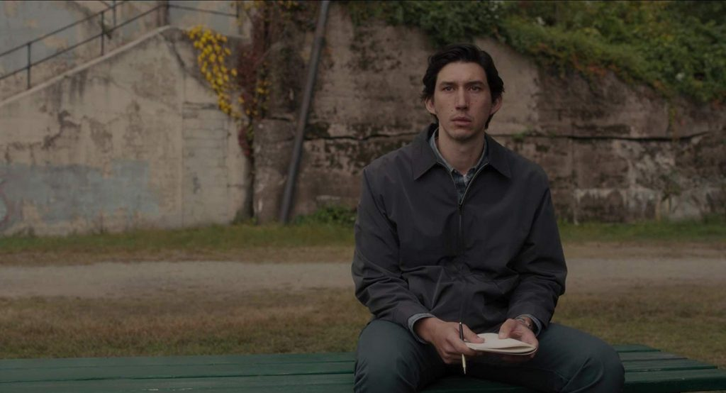 Jim Jarmusch Loud and Clear Reviews Adam Driver Paterson