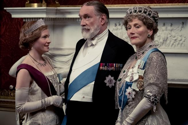 Loud and Clear Downton Abbey Geraldine James Simon Jones Kate Phillips King Queen review