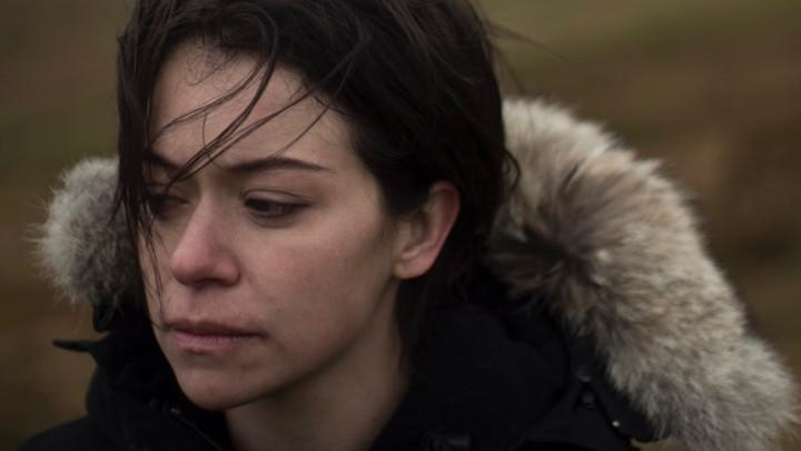 Loud and Clear Reviews Tatiana Maslany Pink Wall London Film Festival