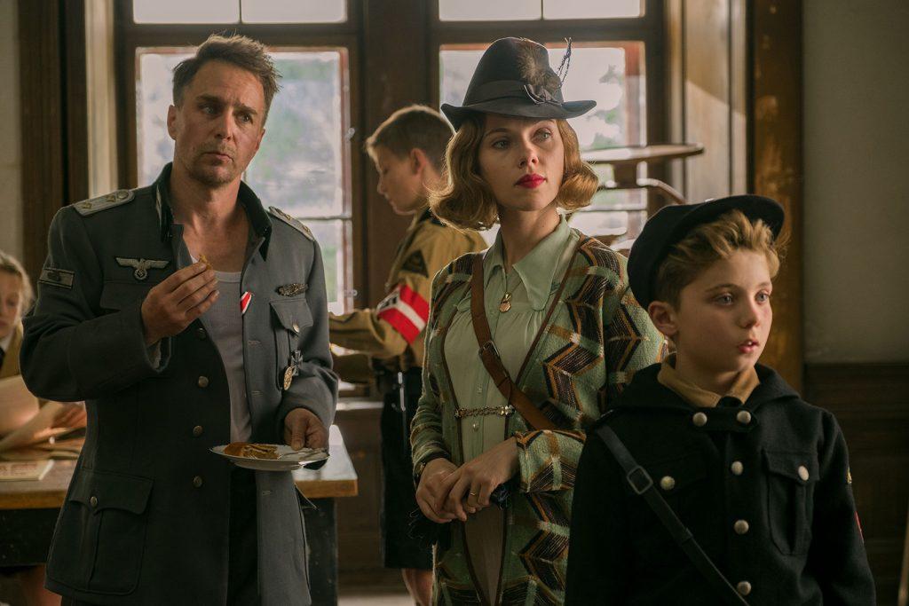 Loud and Clear Reviews Jojo Rabbit Scarlett Johansson Sam Rockwell London Film Festival