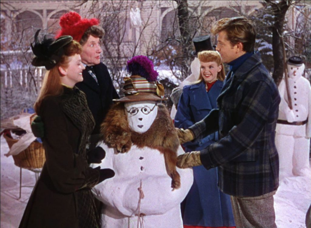 Loud and Clear Reviews Christmas recommendation films Meet Me In St Louis Judy Garland snowman