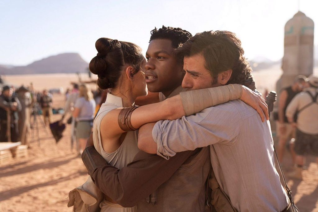 Loud and Clear reviews Star Wars The Rise of Skywalker Rey, Finn and Poe Dameron Oscar Isaac John Boyega