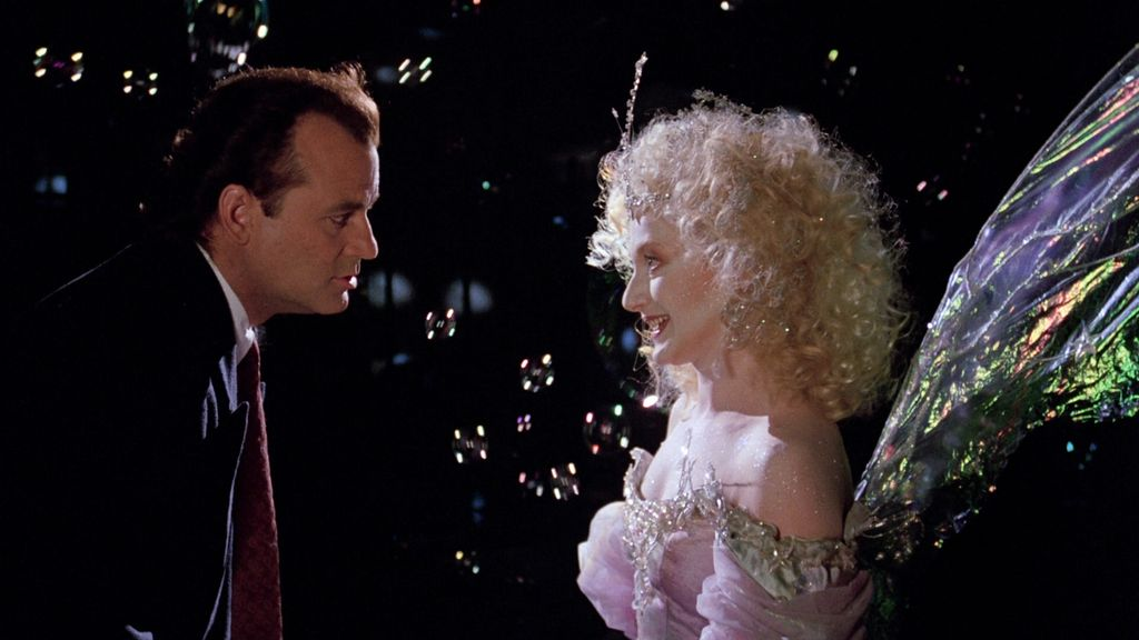 Loud and Clear Reviews Christmas recommendation films Scrooged Bill Murray Carol Kane
