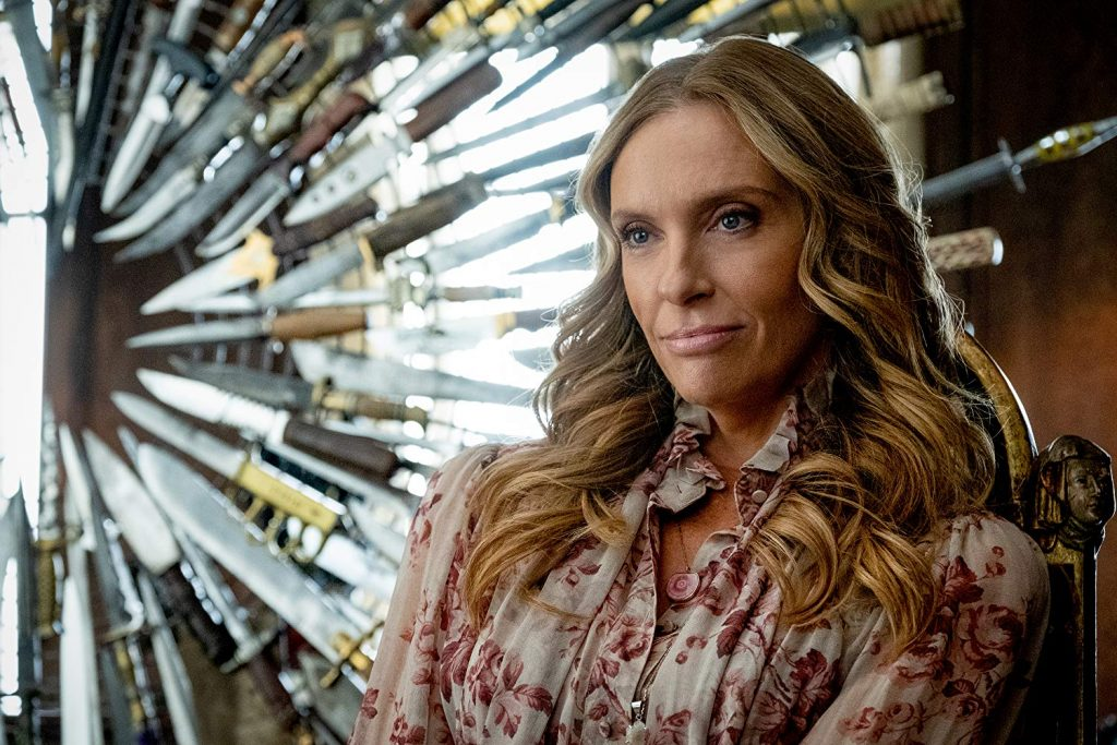 Loud and Clear reviews Knives Out Toni Collette
