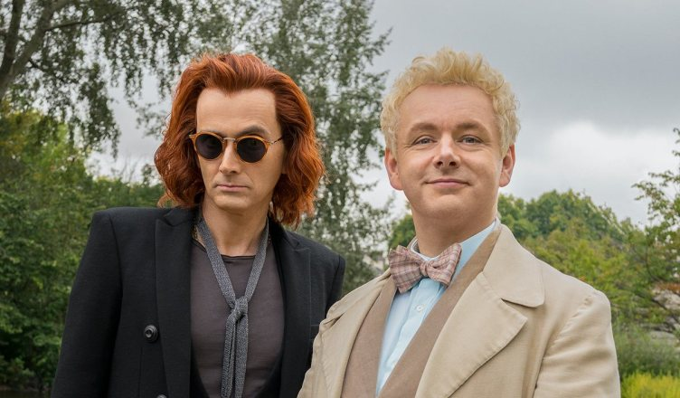 Loud and Clear Reviews aldilà TV Good Omens David Tennant Michael Sheen Aziraphale Crowley
