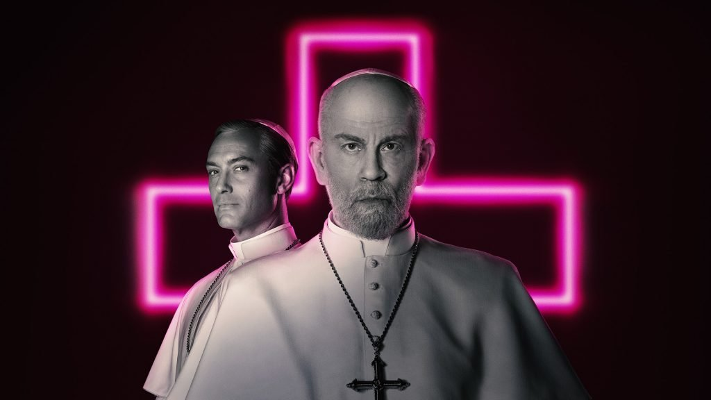 Loud and Clear reviews The New Pope Jude Law John Malkovich cross HBO
