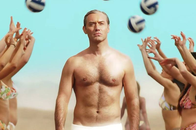 Loud and Clear reviews The New Pope Jude Law beach cross HBO