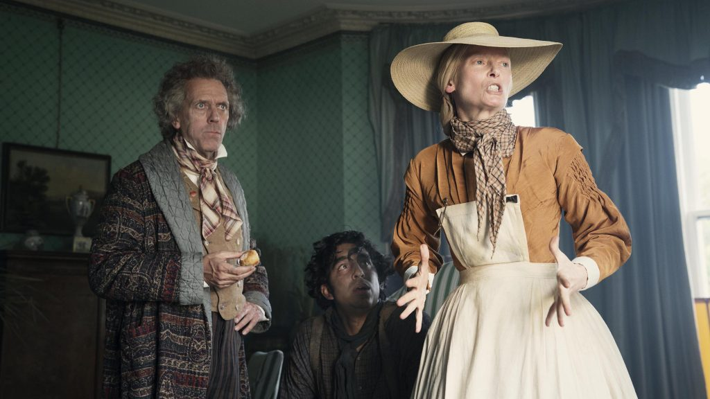 Loud and Clear Reviews The Personal History of David Copperfield Dev Patel Tilda Swinton Hugh Laurie