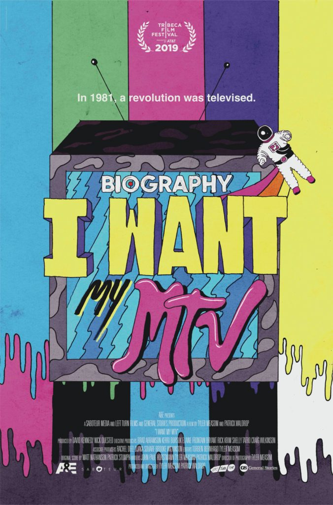 Loud and Clear Reviews I Want My MTV poster