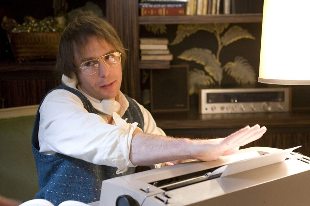 Loud and Clear reviews sam rockwell best films Frost Nixon
