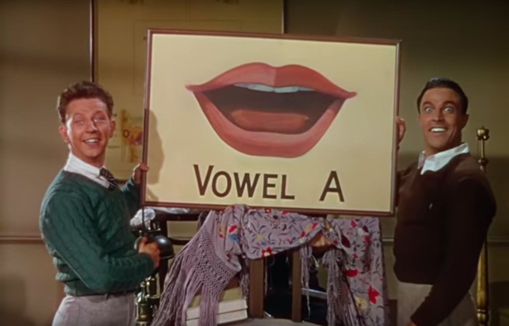 Loud and Clear Reviews Moses Supposes Singin in the Rain