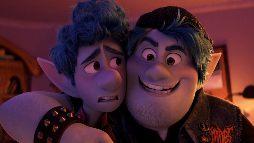 Loud and Clear reviews Onward Pixar Tom Holland Chris Pratt