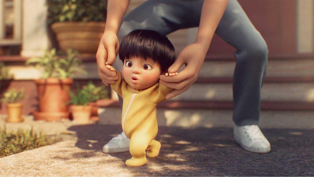 Loud and Clar Reviews Pixar Shorts Float Disney+