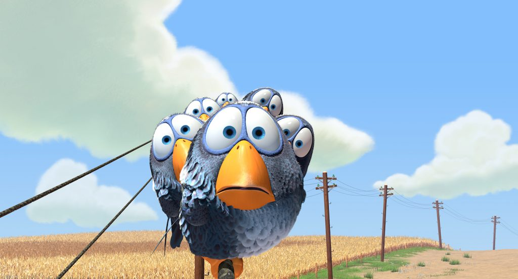 Loud and Clar Reviews Pixar Shorts For the Birds Disney+