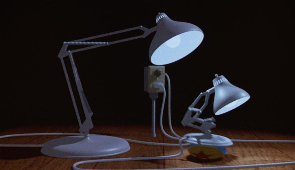 Loud and Clar Reviews Pixar Shorts Luxo Jr Disney+