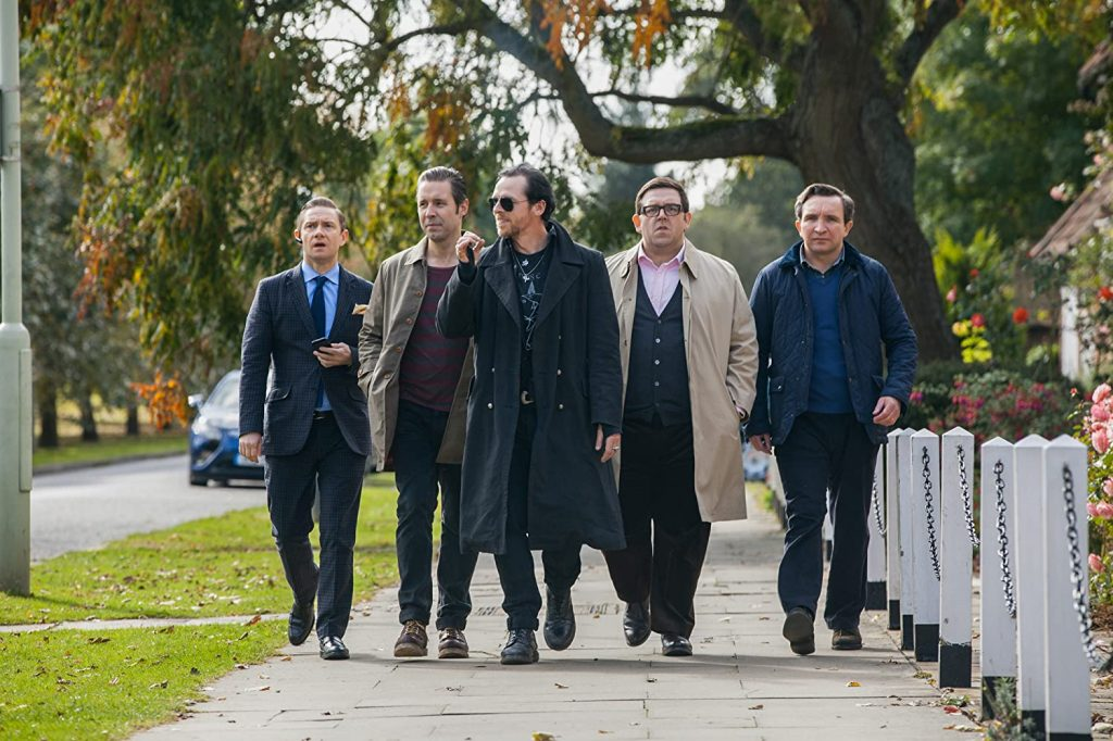 Loud and Clear reviews a film a day week in movies The World's End