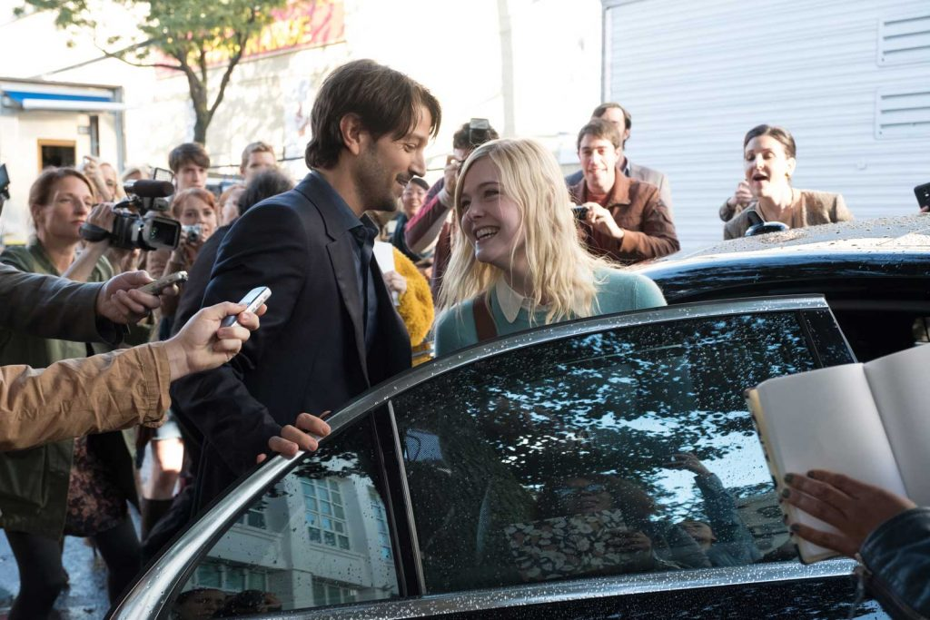loud and clear reviews a rainy day in new york diego luna elle fanning