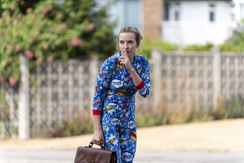 Loud and Clear reviews Killing Eve Villanelle pajama
