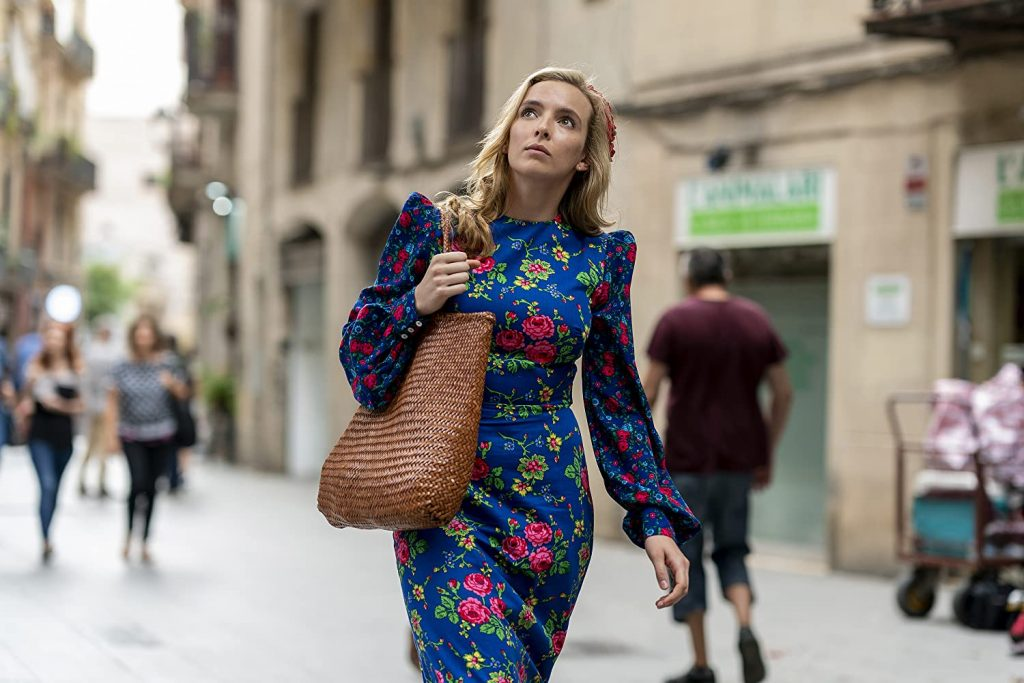 Loud and Clear reviews Killing Eve Villanelle
