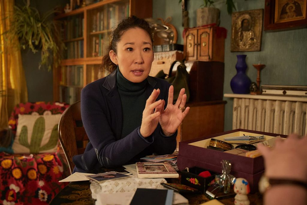 Loud and Clear reviews Killing Eve Sandra Oh