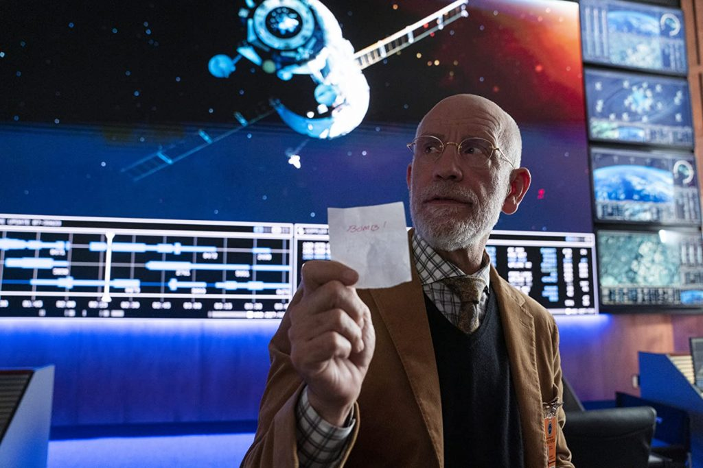 Loud and Clear reviews Space Force John Malkovich