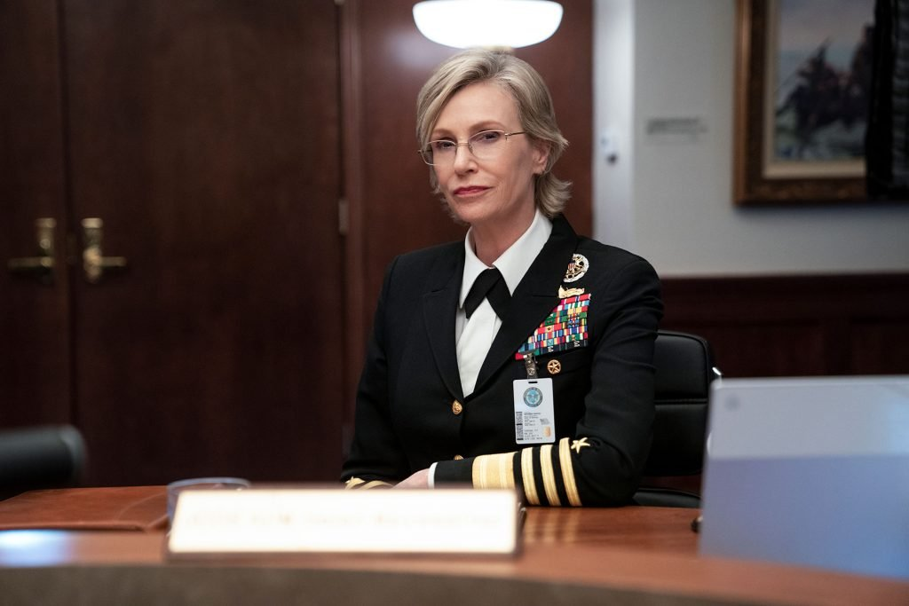 Loud and Clear reviews Space Force Jane Lynch